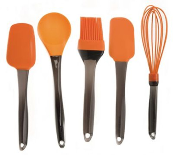 Geminis 5-Piece Silicone Whisk & Tool Set-3636729