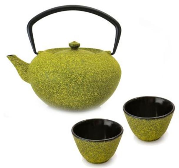 Studio Cast Iron Teapot Set: Teapot & 2 Cups-3636739