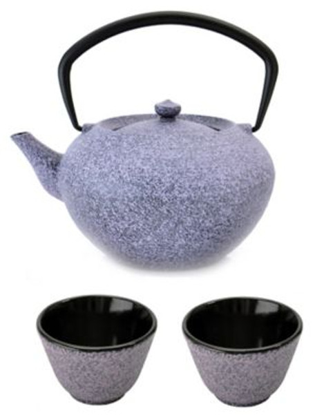 Studio Cast Iron Teapot Set: Teapot & 2 Cups-3636741