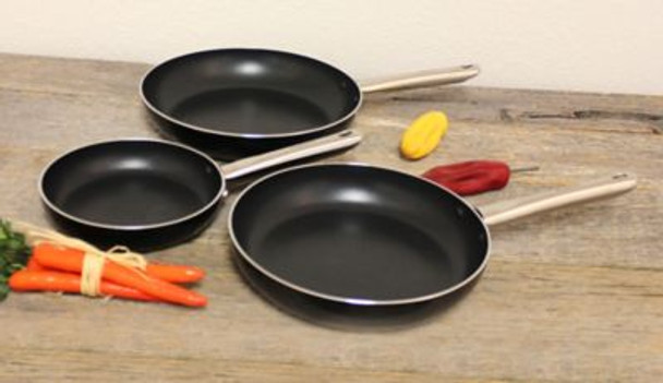 Earthchef Boreal 3-Piece Non-Stick Frying Pan Set-3636746