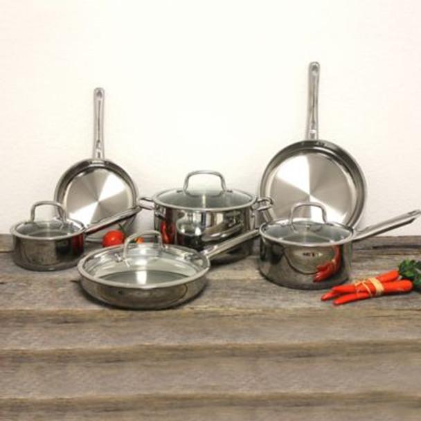 Boreal 10-Piece Cookware Set-3636748
