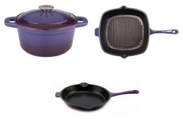 Neo Cast Iron 3-Piece Set-3636752