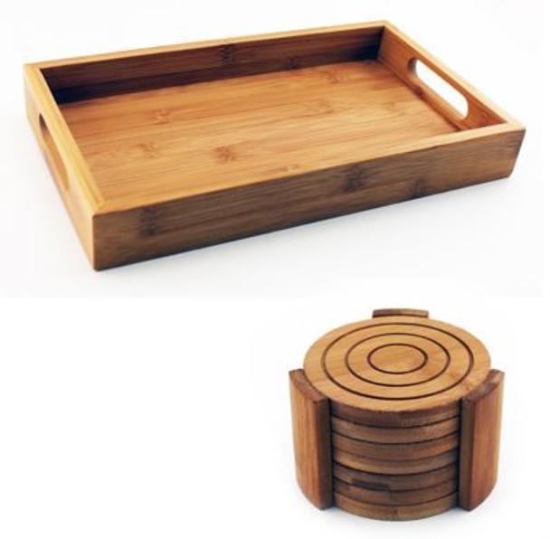 Bamboo 8-Piece Bar Set-3636760