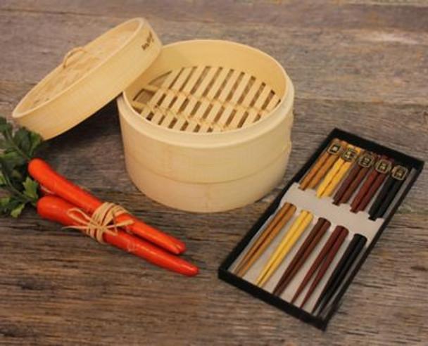 Bamboo 11-Piece Steamer Set-3636765