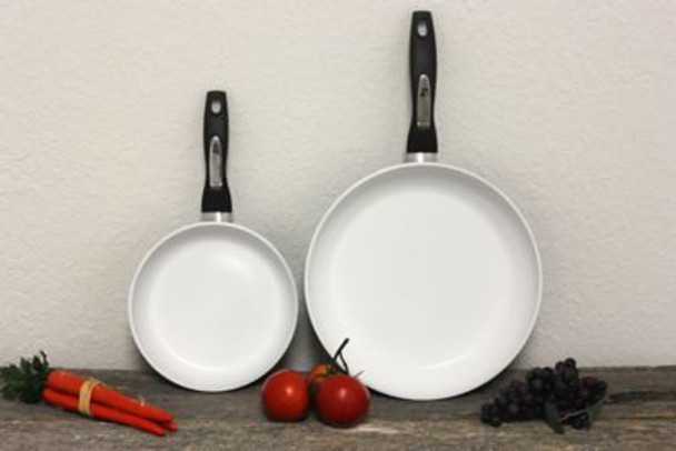 Ceramic Non-Stick 2-Piece Frying Pan Set-3636840
