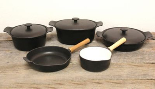 Ron Cast Iron 8-Piece Cookware Set-3636846