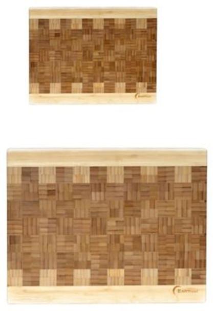 EarthChef 2-Piece Bamboo Chop Block   -3636852