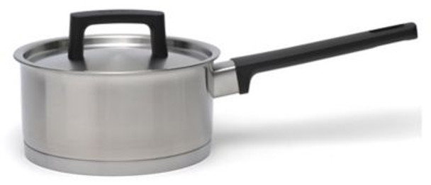 """Ron 6.25"""" Covered Stainless Steel Sauce Pan-3637034"""