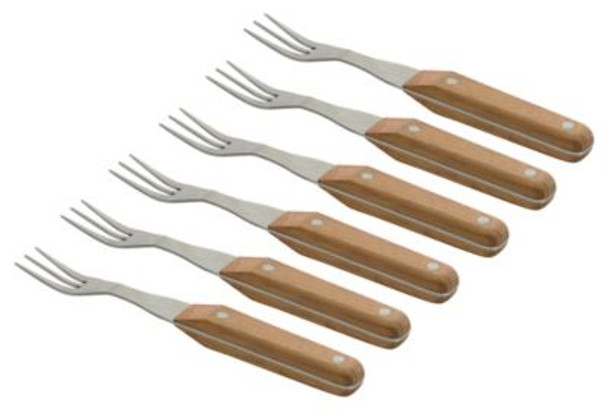 Collect & Cook Steak Fork-Set of 6-3637155