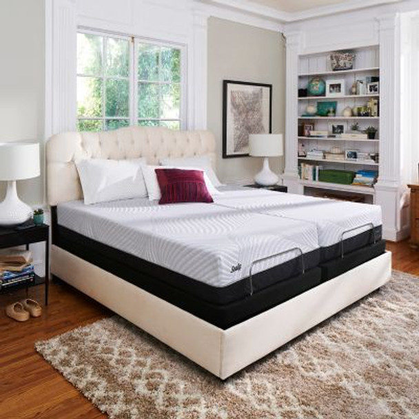 """Sealy Conform Performance 12.5"""" Queen Plush Mattress with 5"""" Low Profile Foundation Set-3711812"""