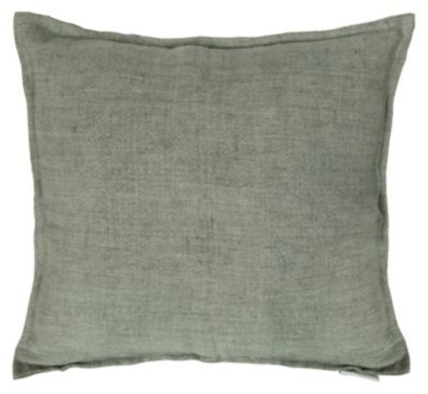 "Lemmy Linen Feather Cushion - 20"" x 20""-3784617"