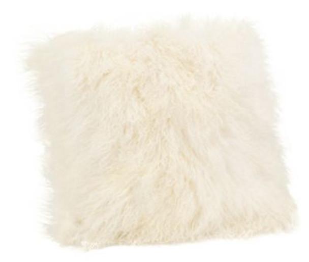 Lamb Fur Large Pillow-3785341