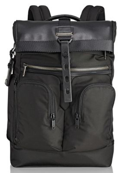 Bravo London Roll-Top Backpack-3785924