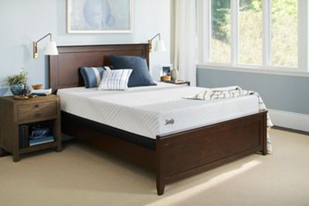 "Sealy Conform Essentials 10"" Queen Cushion Firm Mattress with 9"" High Profile Foundation-3785961"