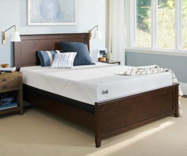 "Sealy Conform Essentials 11"" King Cushion Plush Mattress with 9"" High Profile Foundation-3785969"