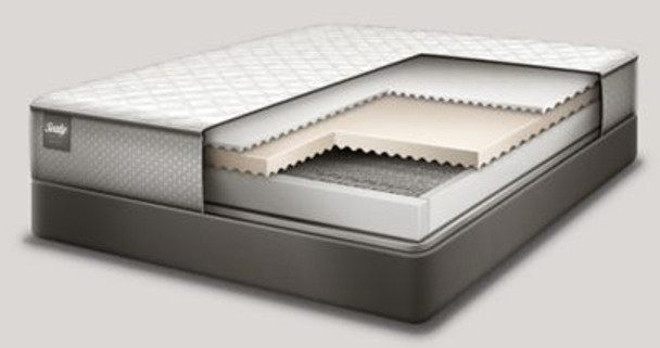 "Response Essentials 10"" California King Firm Tight Top Mattress with 9"" High Profile Foundation Set-3785995"