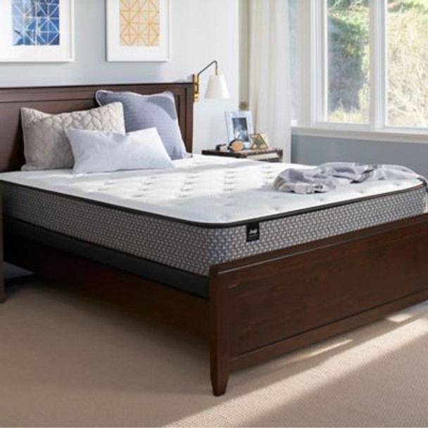 Response Essentials Queen Plush Tight Top Mattress with High Profile Foundation-3786005