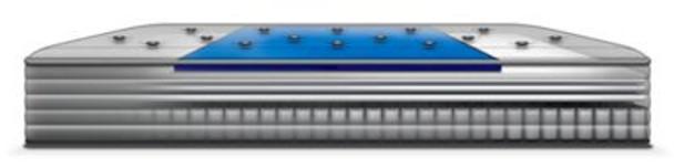 "Response Essentials 11.5"" King Plush Euro Top Mattress with 5"" Low Profile Foundation Set-3786026"