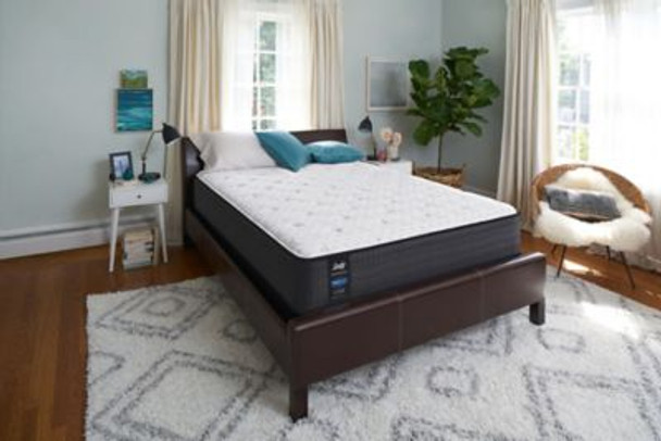 """Response Performance 13"""" Queen Plush Euro Top Mattress with 9"""" High Profile Foundation Set-3786060"""