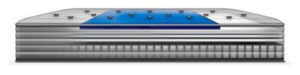 "Sealy Response Performance 13"" Queen Cushion Firm Euro Top Mattress-3786280"