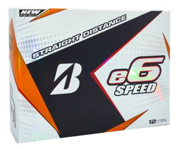 e6 Speed Golf Balls - 1 Dozen-3787005