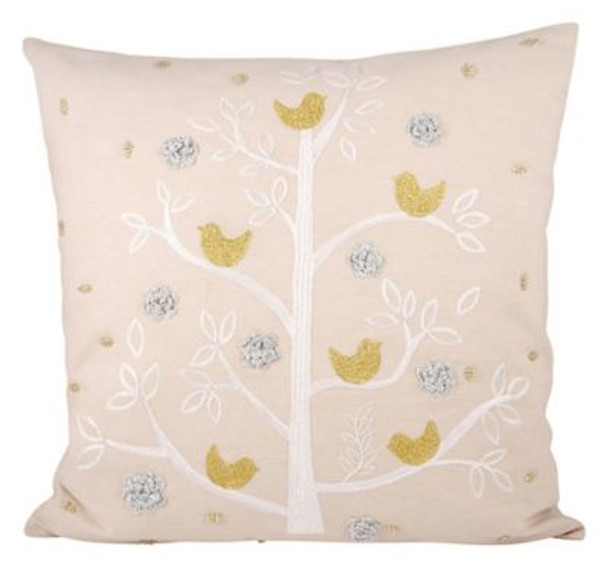 "Holiday Partridge 20""x20"" Pillow-3886762"