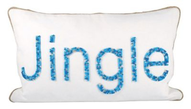 "Jingle 20""x12"" Pillow-3886765"