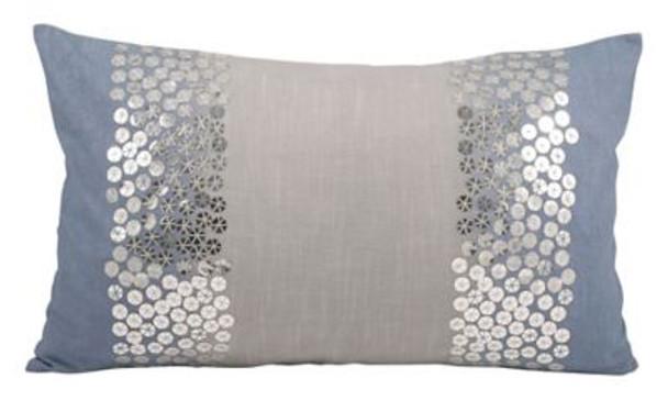 "Nautica 20""x12"" Shimmer Pillow-3886791"