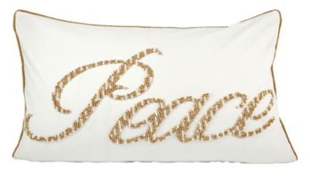 """Peace 26""""x16"""" Lumbar Pillow-3886823"""