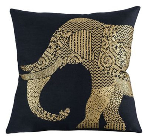 "Bali Elephant 20""x20"" Pillow -3886851"