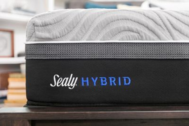 "Sealy Hybrid Performance Kelburn ll 13"" Twin XL Cushion Firm Mattress-3898047"