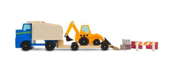 Classic Toy Dump Truck and Loader-3931098