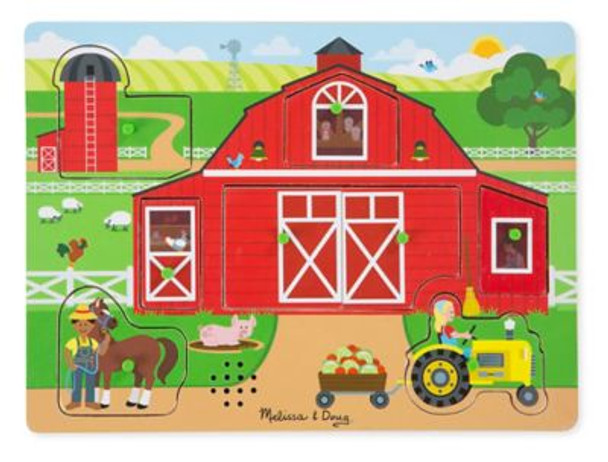 Around the Farm Sound Puzzle-3931127