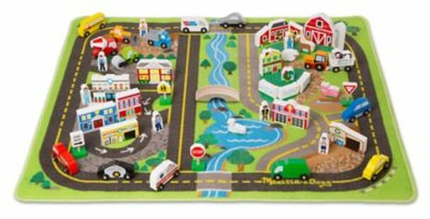 Deluxe Road Rug Play Set-3931161