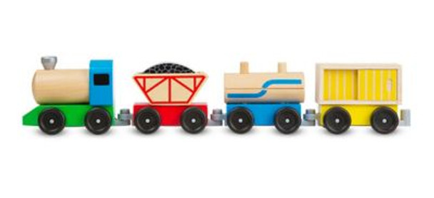 Cargo Train Classic Wooden Toy-3931171