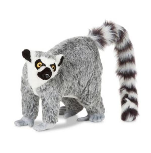 Lemur Lifelike Stuffed Animal-3931202