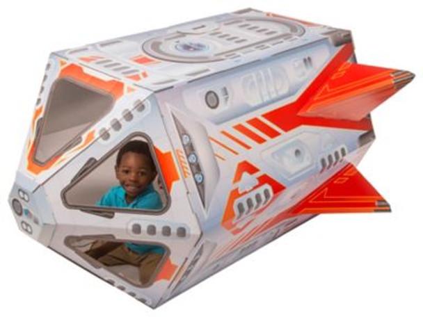 Cardboard Structure - Rocket-3941116