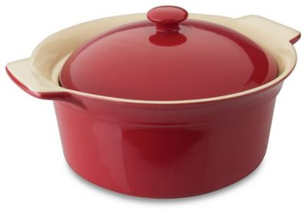 Geminis Round Covered Baking Dish-4007438