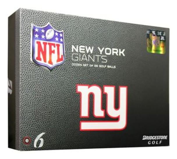 NFL e6 New York Giants Golf Balls - 1 Dozen-4035863