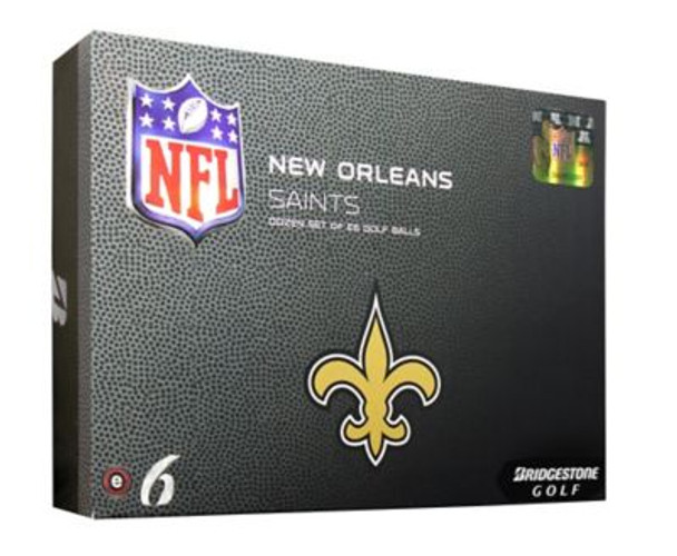 NFL e6 New Orleans Saints Golf Balls - 1 Dozen-4035865