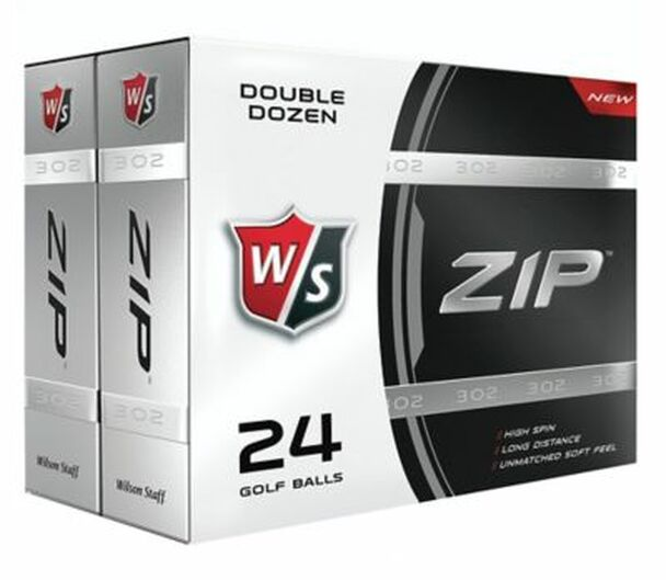 Staff ZIP Golf Balls - 24 Pack-4035906