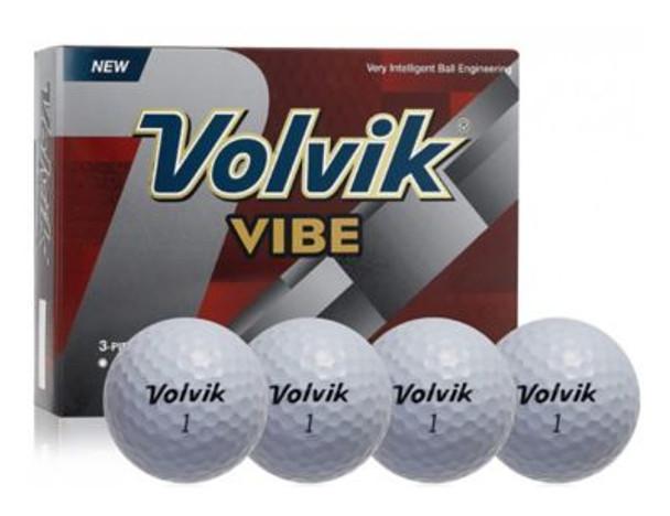 Vibe White Golf Balls - 1 Dozen-4035982
