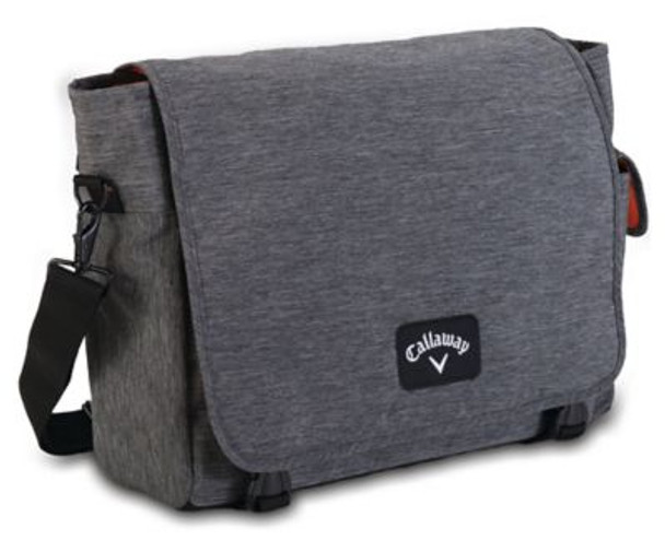 Clubhouse Messenger Bag - Charcoal-4036011