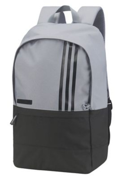 3-Stripes Small Backpack - Grey/Black-4036045