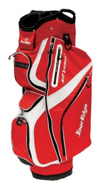 Hot Launch 2 Cart Bag - Red/White-4036061