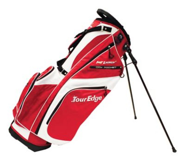 Hot Launch 2 Stand Bag - White/Red-4036062