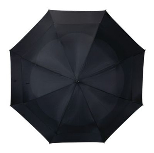 Telescoping Wind Vent Umbrellas - Black-4036093