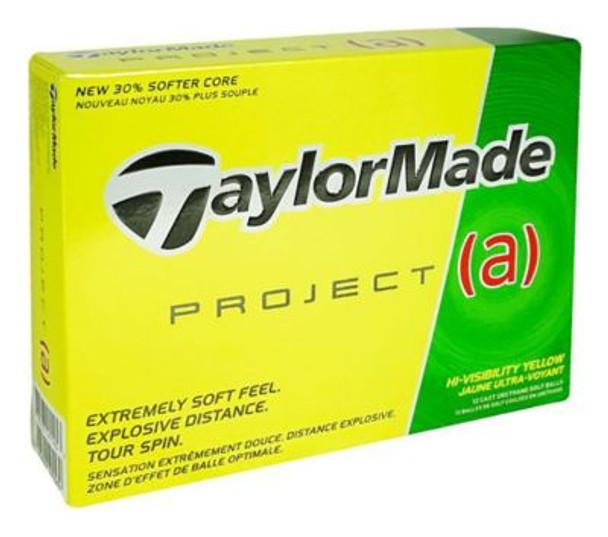 Project A Yellow Golf Balls - 1 Dozen-4036105