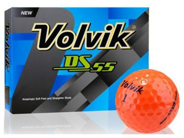 DS-55 Orange Golf Balls - 1 Dozen-4036173