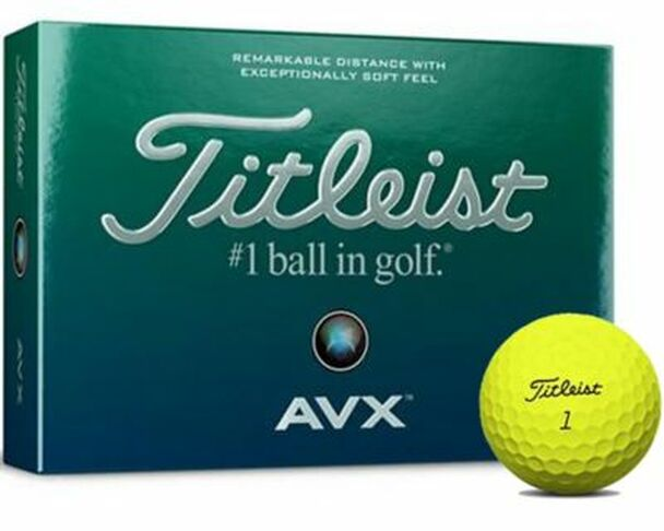 AVX Yellow Golf Balls - 1 Dozen-4036254